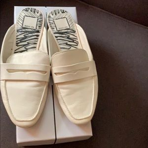 EC Off white leather mules size 8.5